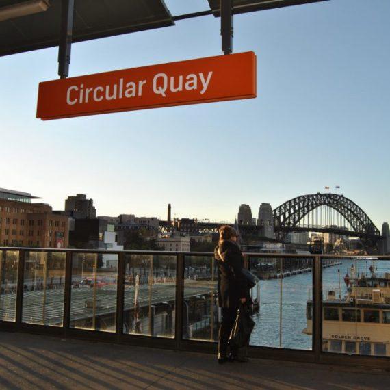 Circular Quay Rail Restoration