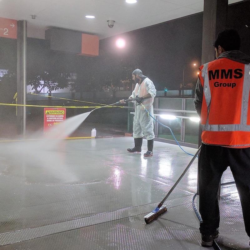 DTMR Special Cleans Project
