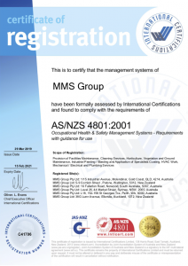Health and Safety ASNZS 4801.2001