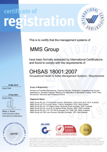 Health and Safety OHSAS 18001.2007