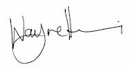 Wayne Hemi Signature
